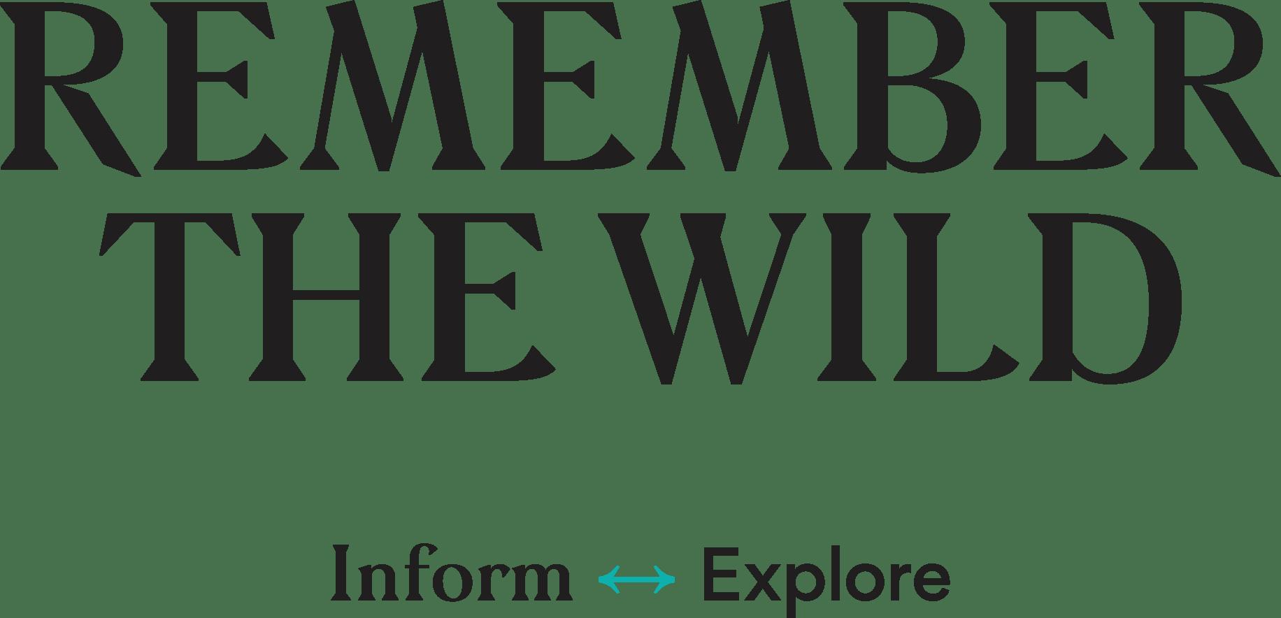 Remember the Wild logo